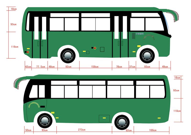 大巴 客车 设计 矢量 矢量图