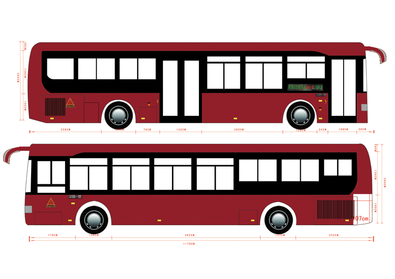 大巴 客车 设计 矢量 矢量图 素材 800_566